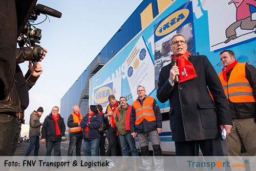 FNV: Sociaal economische criminaliteit bij transporten van IKEA-producten