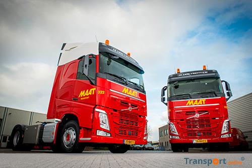 Twee nieuwe Volvo's voor MAAT Transport