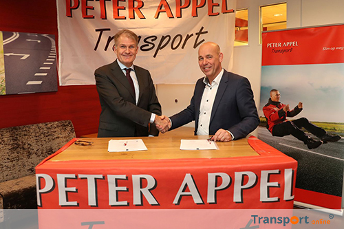Keurmerk Transport & Logistiek en Rijksconvenant ILT voor Peter Appel Transport [+foto's]