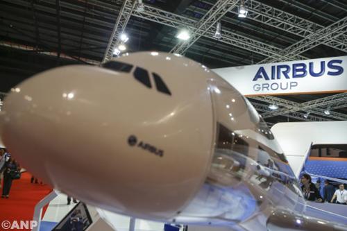 Lichte winststijging voor Airbus