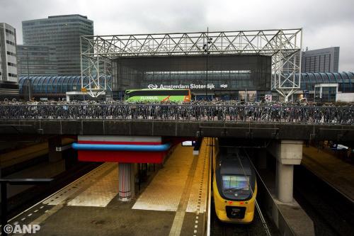 NS zet spitsbus in bij Amsterdam