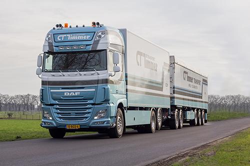 Nieuwe Daf XF voor C.T. Timmer Transport Herveld