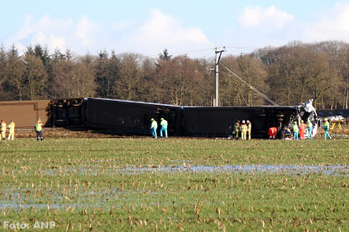 Treinmachinist treinongeluk Dalfsen overleden [+foto's]