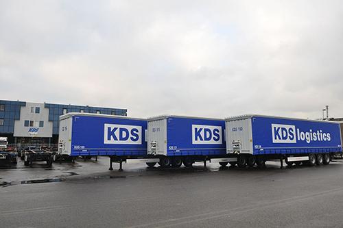 KDS Logistics vervangt trailervloot