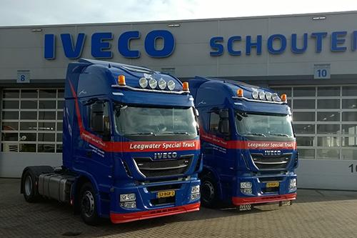 Twee nieuwe IVECO Stralissen voor Leegwater Special Truck B.V.