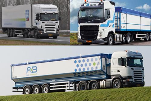 AB Texel, Butter Group en A-Ware Logistics samen verder als AB Agri Transport