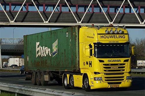 Containerchassis met container gestolen van Houweling [+foto]