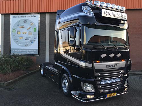 Nieuwe Daf XF 440 SSC Winner Edition voor Pallethandel Panhuis