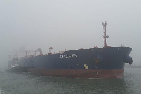 Eerste olietanker 'Sea Queen' uit VS in zeker 40 jaar in Rotterdam
