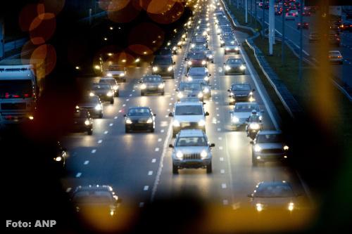 Afgesloten wegen: zeer drukke ochtendspits