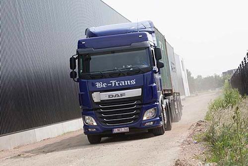 BE-Trans schaft 100 nieuwe DAF XF vrachtwagens aan