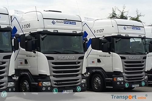 500ste vrachtwagen voor Ewals Cargo Care vloot
