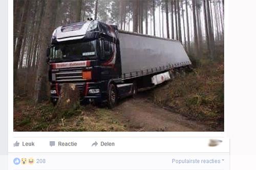 Een gedeelde foto op Facebook: wat gebeurde er echt?