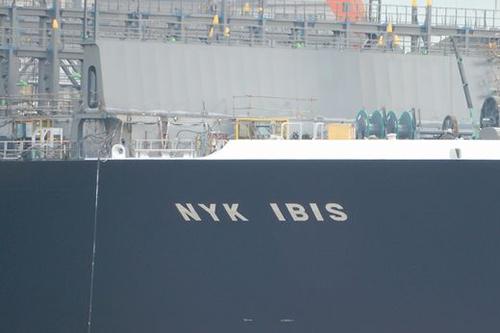 Maiden call voor de 'NYK Ibis' bij ECT Delta Terminal