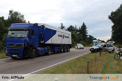 Gewonde bij ongeval met vrachtwagen op N270 [+foto]