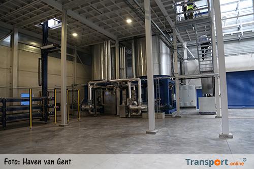 VLS-GROUP opent gloednieuwe productiehal in haven van Gent