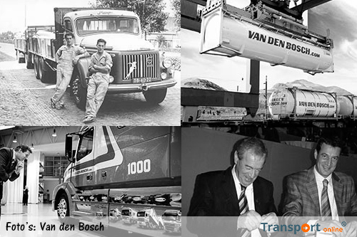 Ad van den Bosch, oprichter Van den Bosch Transport, overleden [update]