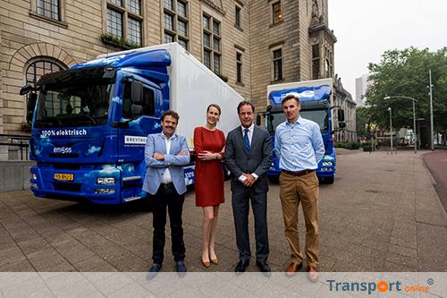 Meer elektrische vrachtwagens dankzij Green Deal 010