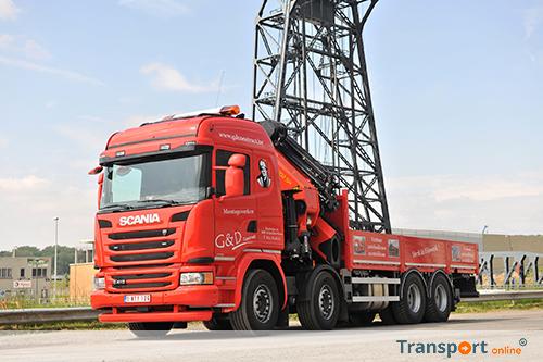 Eerste Scania voor G&D Construct