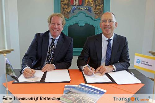 Koepelovereenkomst Westvoorne en Havenbedrijf Rotterdam