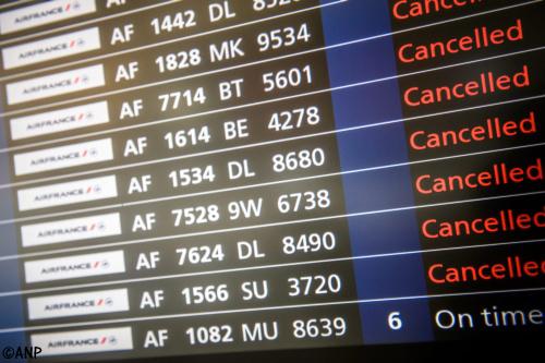 Een op vijf vluchten Air France geannuleerd