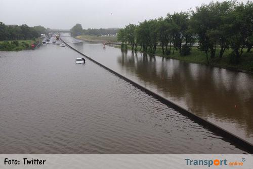 Franse snelwegen dicht door overstromingen [+foto's&video]