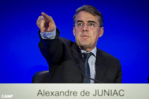 Topman De Juniac weg bij Air France-KLM