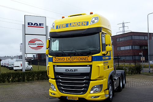 Nieuwe DAF voor Ter Linden Transport