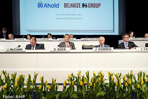 Groen licht voor fusie Ahold en Delhaize