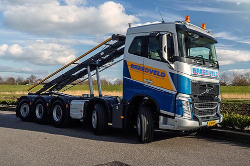 Nieuwe Volvo FH 500 voor Breedveld Garage en Transport