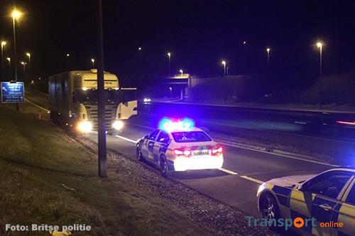 Hongaarse vrachtwagenchauffeur in Britse cel na ontduiken tol [+foto]