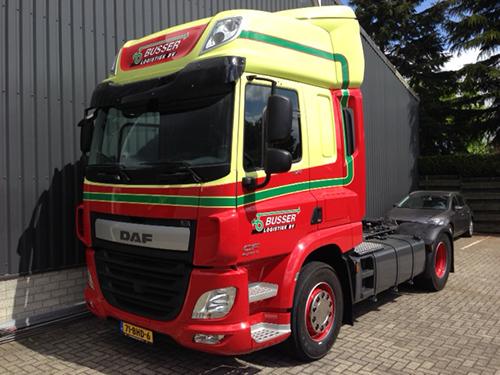Nieuwe DAF CF voor Busser Logistiek BV