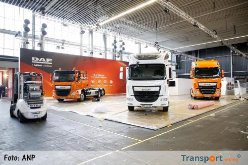 'Recordboetes voor Europese vrachtwagenbouwers'
