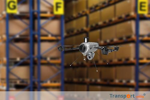 GEODIS en Delta Drone ontwikkelen unieke oplossing voor het inventariseren van magazijnen met drones