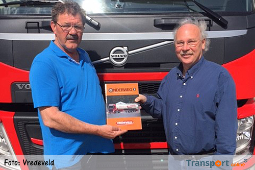 Speciale uitgave transportboek vanwege 80-jarig jubileum Vredeveld Transport