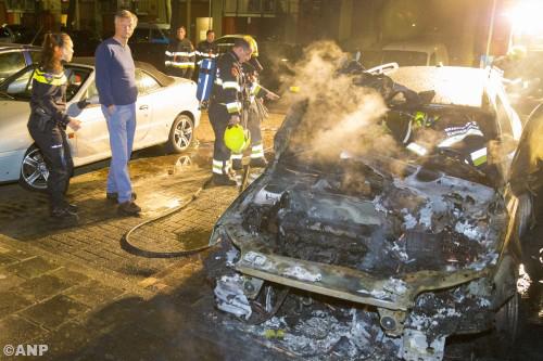 Brandstichter auto burgemeester Bernt Schneiders Haarlem vast