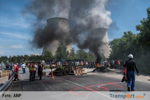 Blokkades brandstofopslagplaatsen Frankrijk verwijderd