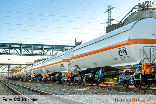 OCI Nitrogen vernieuwt treinwagons