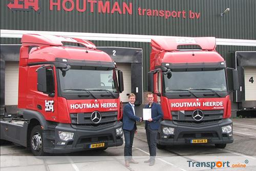Keurmerk Transport & Logistiek voor Houtman Transport in Heerde