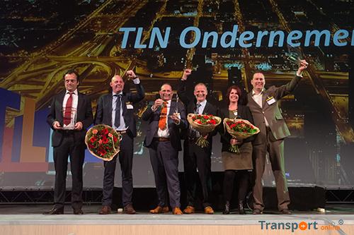 Jan Krediet, Kattenberg Verhuizingen en van der Steen Transport winnaars TLN Ondernemersprijs 2017