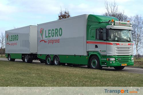 Keurmerk Transport & Logistiek voor Legro