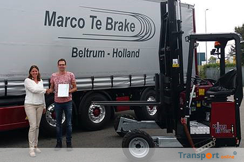 Keurmerk Transport & Logistiek voor Marco te Brake Transport uit Beltrum