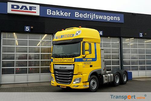 Nieuwe DAF FTT XF voor Ter Linden Transport
