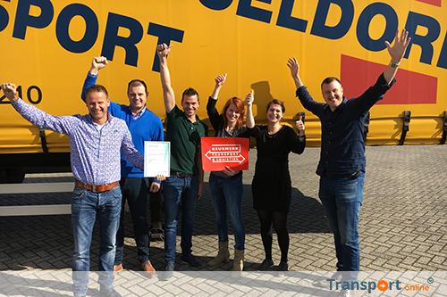 Keurmerk Transport & Logistiek voor Jos Dusseldorp Transport