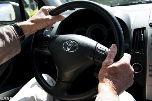 Steeds meer ouderen op de weg