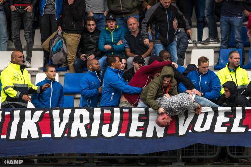 Nog drie aanhoudingen na Willem II - Feyenoord