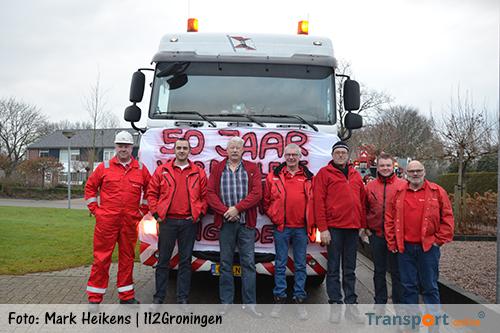 Chauffeur Martin Jansema al 50 jaar in dienst van Wagenborg Nedlift [+foto&video]