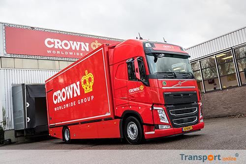 Crown Fine Art vervoert kunst met Volvo FH420
