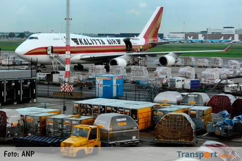 Vrachtvervoer door de lucht groeit door