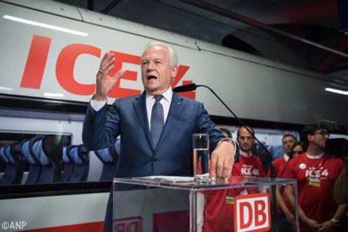 Topman Rüdiger Grube van Deutsche Bahn stapt onverwachts op